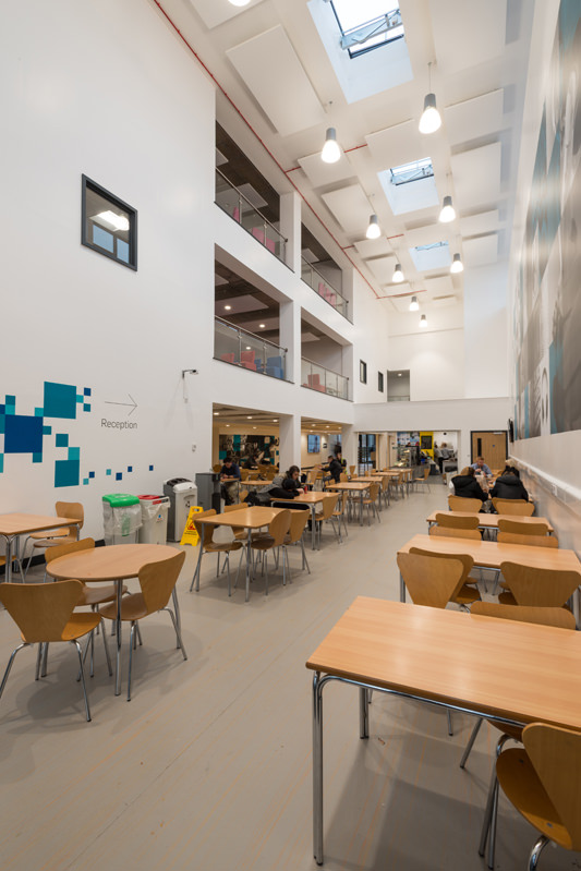 ADG Architects Design Group Architecture Design Graphics STEM building City College Plymouth